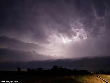 Lightning by Mark Humpage
